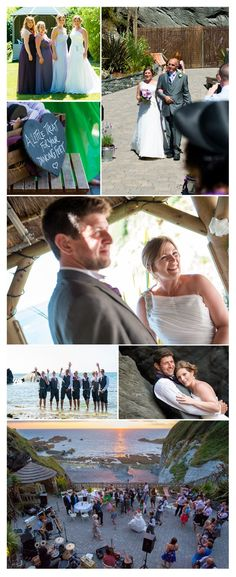 Michael Wells Photography: Kim & Mark's Tunnels Beaches Wedding