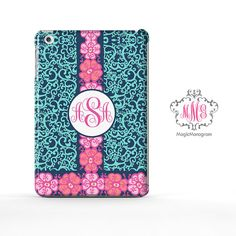 Monogram iPad Case Mini custom monogram iPad Air by magicmonogramm, $23.88