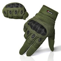 TPRANCE® Adjustable Men's Tactical Gloves Hard Knuckle Sewn-in Brass Knuckles Reinforced Palm Back Wrist Protect Hand Provide Warm Driving/ Shooting/Sport/Fitness Army Green M - http://ridingjerseys.com/tprance-adjustable-mens-tactical-gloves-hard-knuckle-sewn-in-brass-knuckles-reinforced-palm-back-wrist-protect-hand-provide-warm-driving-shootingsportfitness-army-green-m/