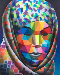 Okuda, Online Collections, Repeating Patterns, Textile Design, Art Images, Deco, Print Patterns, Explore, Stuff To Buy
