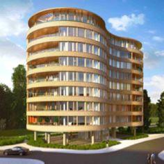 Nieuw gebouw in Benoordenhout in Den Haag
