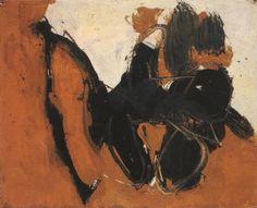 Robert Motherwell - Two Figures No. 11, 1958