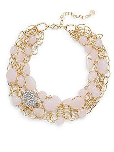 Beaded Multi-Chain Necklace $90.00  now $29.99 (66% Off) Clearance