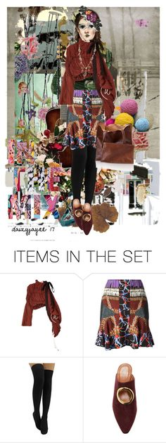 """in the mix"" by daizyjayne ❤ liked on Polyvore featuring art and fashionart"
