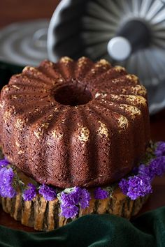 Orange-Chocolate Cake with Beets, Honey, Chia Seeds & Spelt Flour at Cooking Melangery