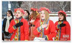 Euromaidan Press @EuromaidanPress · Dec-7-2014 A concert for #Ukraine's military on #Slovyansk central square @JuMistress: #Donbas
