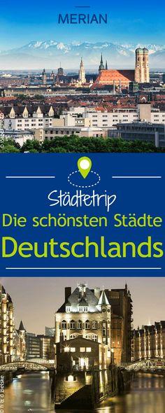 Lust auf einen Städtetrip? Wir zeigen euch die schönsten Städte Deutschlands.