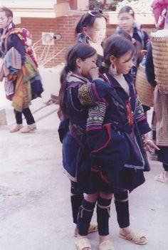 Gorgeous little girls from Sapa, Vietnam.