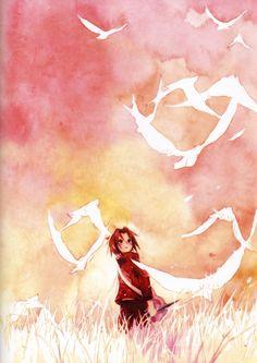 Sasuke. omg, look at those colors. T_T