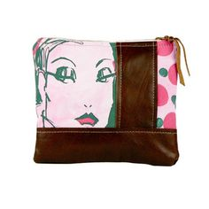 Face Pouch Large Pink now featured on Fab.