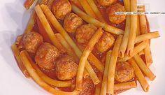 La ricetta della pasta con polpette di pesce al sugo di Gianfranco Pascucci del 17 ottobre 2015 – La prova del cuoco