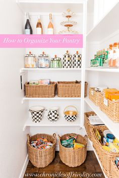How to Organize an L-Shaped Pantry | Chronicles of Frivolity