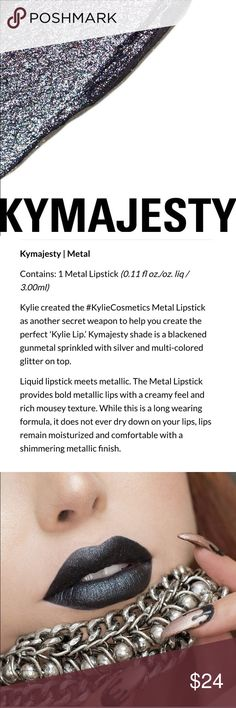 Kymajesty Metal Lipstick New in box! 100% authentic💋price firm💄 Kylie Cosmetics Makeup Lipstick