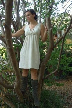 The Short Market Dress hemp and organic cotton by gaiaconceptions, $135.00