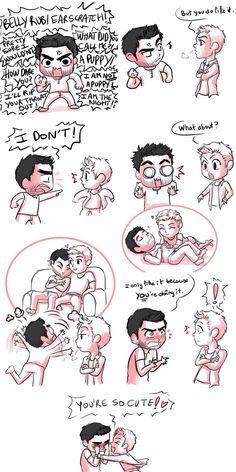 Derek x Stiles!