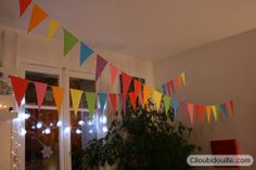 Guirlande arc-en-ciel - Ciloubidouille - Rainbow party