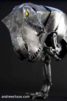 Articulated T-rex by Andrew Chase