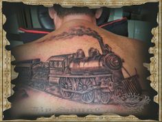 1000 images about train tattoo on pinterest train tattoo trains and engine tattoo. Black Bedroom Furniture Sets. Home Design Ideas