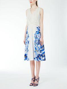 Max Mara LEANDRO white: Cady dress.