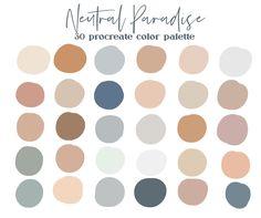 Color Palate, Neutral Colour Palette, Pastel Color Palettes, Color Tones, Neutral Tones, Colour Schemes, Color Combos, To Do Planner, Design Seeds