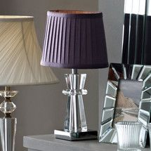 Pyramid Crystal Table Lamp Dunelm