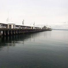The pier in Geelong #australia #geelong #pier #gretastravels #roadtrip #greatoceanroad #bythesea #cunninghampier by gretaerdmann http://ift.tt/1JtS0vo