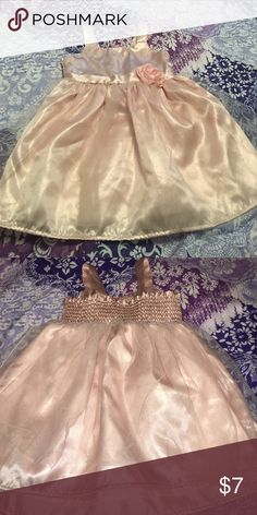 Toddler dress Cute satin and tulle dress! Great condition! Carter's Dresses Formal