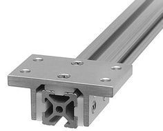 2.8 x 4 15S Aluminum Double Flange Linear Bearing   Fastenal