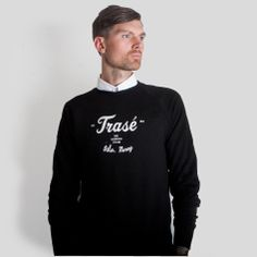 Ethically sourced organic cotton college sweater by Trasé http://www.trase.bigcartel.com/product/college-sweater