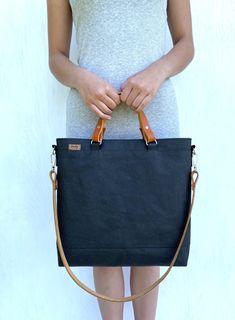 Kombi 2 černá kabelka z pratelného papíru / od Lucky b.a.g.s.   Fler.cz Lucca, Bags, Fashion, Handbags, Moda, Fashion Styles, Fashion Illustrations, Bag, Totes