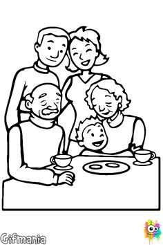 Imagini pentru imagini cu familia de colorat