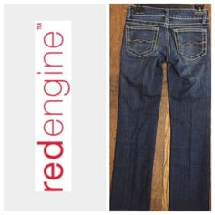 "RED ENGINE CROP DENIMS Inseam 29 1/2"".     Rise 7 1/2"".     Stretch 98% cotton 2% Lycra.                                                           🚫 TRADES 💯 AUTHENTIC 🚫 PAYPAL 🔝 10% SELLER ⛔️ Accept Offers 📦 Fast Shipping 🚫 LOW BALLERS Red Engine Jeans Straight Leg"