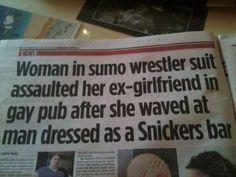 Hurra, eine Headline, die alles für eine Top-Story enthält