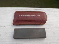 Pocket sharpening stone by AppalachianAxeworks on Etsy