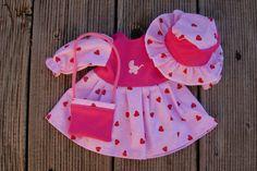 Puppenkleid   von Landhausatelier auf DaWanda.com