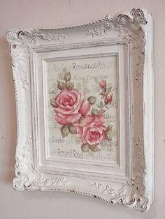 rosecottage.quenalbertini: Rose picture #shabbychicfurnitureideas