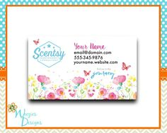 38 best scentsy marketing designs more images on pinterest scentsy business card design from new journey collection reheart Image collections