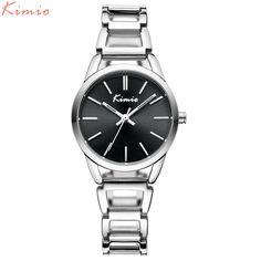KIMIO Vintage New Gold Bracelet Watch For Woman Elegant Luxury Brand Ladies Quartz Watches Reloj Mujer 2016 Montre Femme 6105