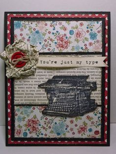 FS289 My Type Too by junior tx - Cards and Paper Crafts at Splitcoaststampers