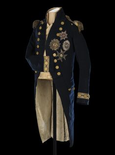 Eeyore's eye — holdhard:     Vice-admiral's undress coat worn by...