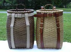 Adirondack Pack Basket - from Adirondack Basketry