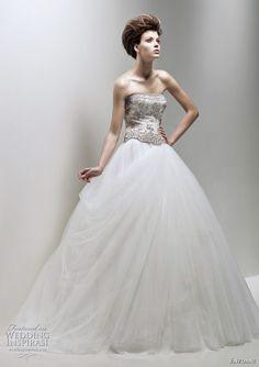 Enzoani Fleur wedding dress 2011 - bridal ball gown