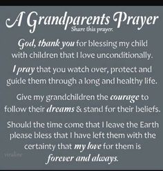 Happy Grandparents Day Wishes: Grandparents are a lot of fun, wise, generous, loving, and supportive. Get help thinking of what to write to your grandparents wi Grandson Quotes, Quotes About Grandchildren, Daughter Quotes, Grandkids Quotes, Prayer Board, My Prayer, Prayer Scriptures, Bible Prayers, Prayer Room