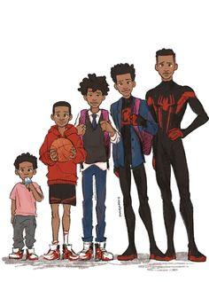 Miles Spiderman, Miles Morales Spiderman, Spiderman Spider, Amazing Spiderman, Marvel Art, Marvel Heroes, Marvel Avengers, Siper Man, Character Art
