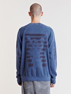 Raf Simons Archive AW04 Reinforced Patch Sweater