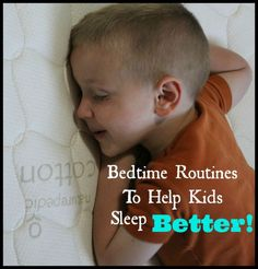 8 Bedtime Routine tips To Help Children Sleep Better