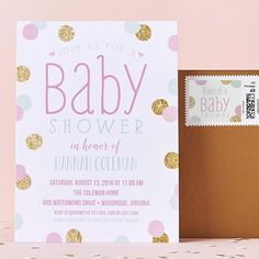 Dive into a pool of subtle soft pinks for your precious baby shower.