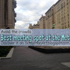 Best place to meet at the Metropolitan Museum of Art New York City Tourism, New York City Museums, New York Travel, New York Activities, Metropolitan Museum, Art Blog, Journey, Meet, Places
