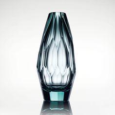 Moser Cubism Vase