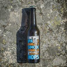 Ihopsó IPA designed by Viktor Forsman Corona Beer, Beer Label, Ipa, Beer Bottle, Packaging Design, Bottles, Logos, Logo, Beer Bottles